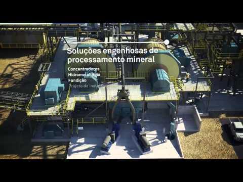 Vídeo da Ausenco sobre os serviços oferecidos desde a mina até o porto