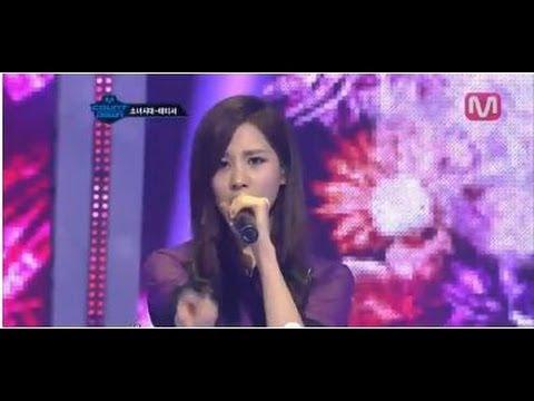 소녀시대-태티서_Baby Steps(Baby Steps by Girls' Generation-TTS@Mcountdown_2012.05.03)
