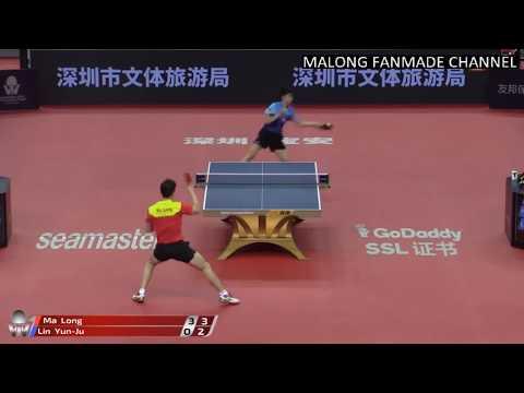 2018年中國桌球公開賽男單  馬龍 Vs 林昀儒