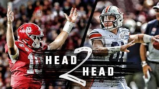 Head to Head: Iron Bowl edition