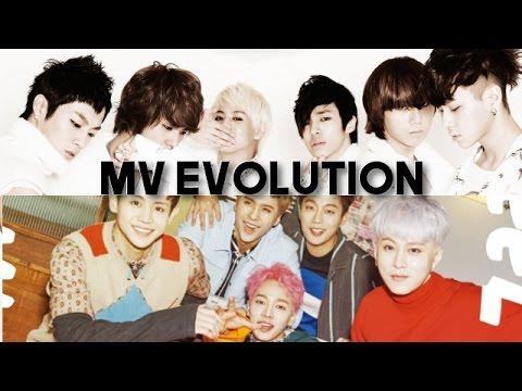 Evolution of: BEAST/HIGHLIGHT - Music Videos (2009-2017)