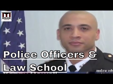 How law school and law enforcement work together