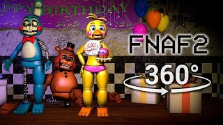 360°| Five Nights at Freddy's 2 Test Show [FNAF/SFM] (VR Compatible)