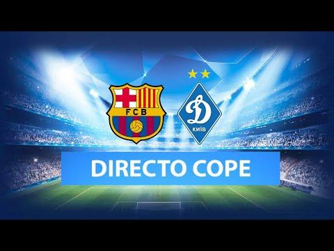 BARCELONA vs KIEV EN VIVO   Champions League   Radio Cadena Cope (Oficial)