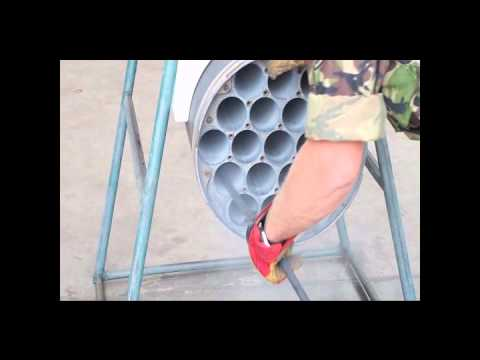 70mm Rocket Launcher Cleaning