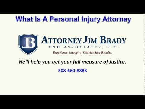 What Is A Personal Injury Attorney
