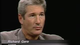 Richard Gere Job İnterview On Charlie Rose 1997 & 1999