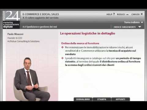 Paolo Mosconi - la logistica per e-commerce