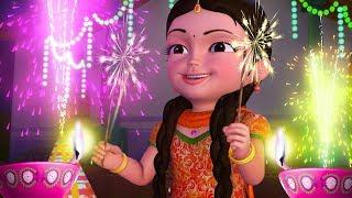 Diwali Song | Hindi Rhymes for Children | Infobells