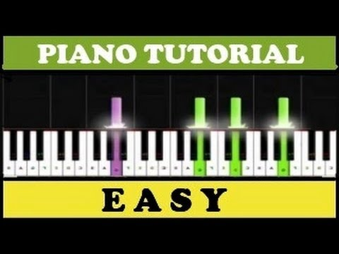 Beethoven - Himno a la Alegria | Ode to Joy | Easy Piano Tutorial (Synthesia)