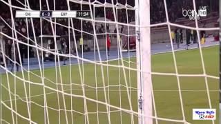 هدف النجم محمد صلاح مباراة مصر وتشيلي 31-5-2014 HD