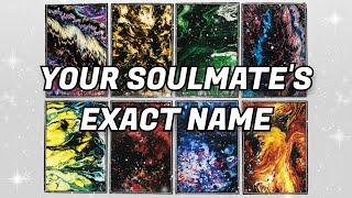 What Is Your Soulmate's Name?✍️ (Pick a Card)✨ Their Exact Name!