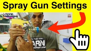 1 Tip: Adjusting Your Spray Gun - Automotive Spray Gun Setup For Painting Door Jambs