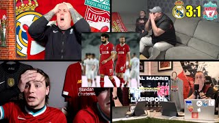 Furious Liverpool Fan Reactions to 3:1 Loss against Real Madrid in the Champions League