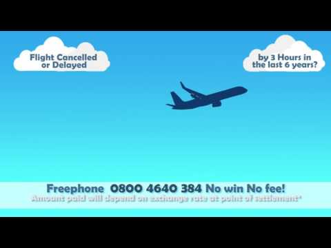Flight Delay Hotline Advert