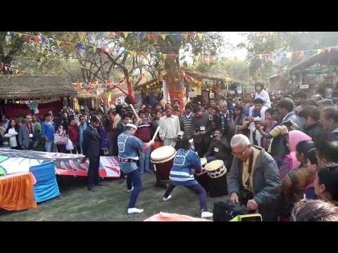 Surajkund Mela 2016: Japanese Drum Act - Day 4