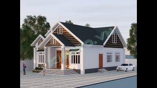 Mẫu Nhà Cấp 4 Đẹp 3 Phòng Ngủ 150m2 Giá 700 Triệu Tại Quỳ Châu Nghệ An
