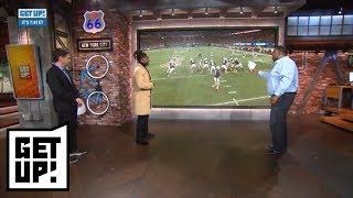 Shaquem Griffin breaks down his college football film with Damien Woody | Get Up! | ESPN