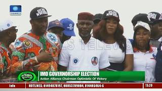 Imo Gov'ship Election: Action Alliance Optimistic Of Victory