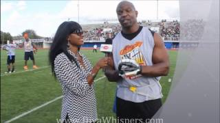 Terry Crews Shows Off Dance Skills On The Football Field