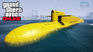 GTA Online - Kosatka Submarine Gameplay and Showcase [The Cayo Perico Heist]