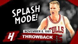 Throwback: Steve Kerr Full Highlights Bulls vs Nets 1997.11.08 - 21 Points off the Bench, 8-13 FGM!