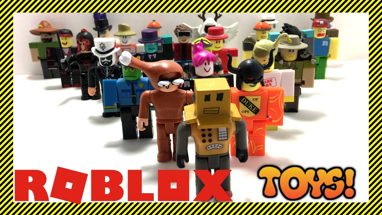 😀 ROBLOX TOYS - All Blind Box Toys - A Quick Look at All
