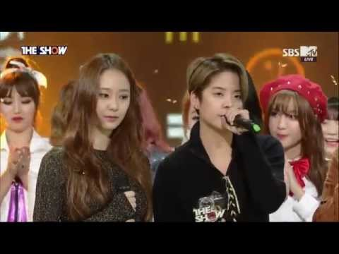 f(x) Winning Stage The Show (11/10/2015)
