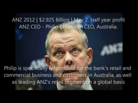 Australian Banks Profit Reporting May 2012 NAB ANZ WESTPAC COMMBANK
