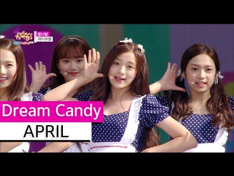 [HOT] April - Dream Candy, 에이프릴 - 꿈사탕 Show Music core 20150912