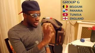 World Cup 2018 Group G Analysis |  Belgium, Panama, Tunisia, England
