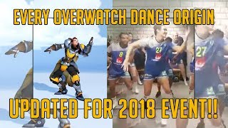 EVERY OVERWATCH DANCE REFERENCE   UPDATED FOR 2018 ANNIVERSARY   TradeChat