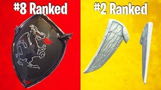 RANKING BACK BLING IN FORTNITE FROM WORST TO BEST!
