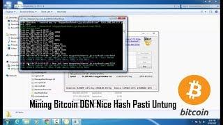 Tutorial Mining Bitcoin DGN Nice Hash Pasti Untung  (Farming Bitcoin with NIcehash)