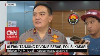 Alfian Tanjung Divonis Bebas, Polisi Kasasi