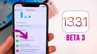 iOS 13.3.1 Beta 3 Released - What's New?