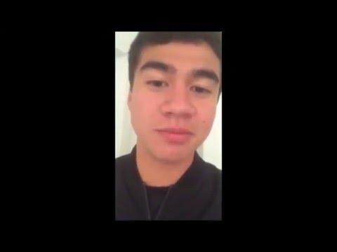 Calum plays Ashton`s drums & Ashton brings FIYAH (Snapchat)