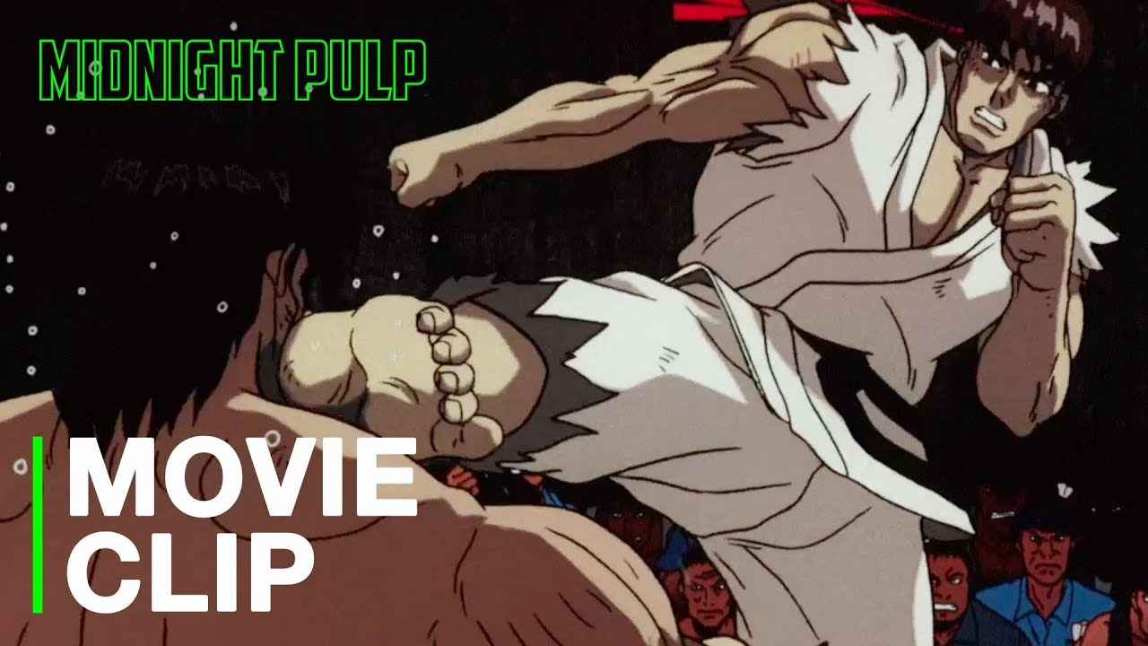 Ryu Vs Sagat Anime Movies