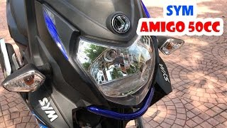 """SYM Amigo 50cc ▶ """"Quái xe"""" xứng danh Cha của Phong cách!"""