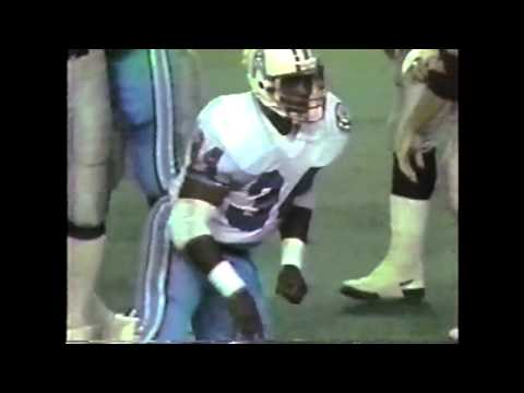 Raiders at Houston Oilers -- Warren Moon First Game, with RB Earl Campbell