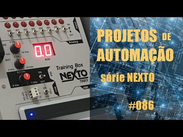 INTRODUÇÃO AO CLP NEXTO | Projetos de Automação #086