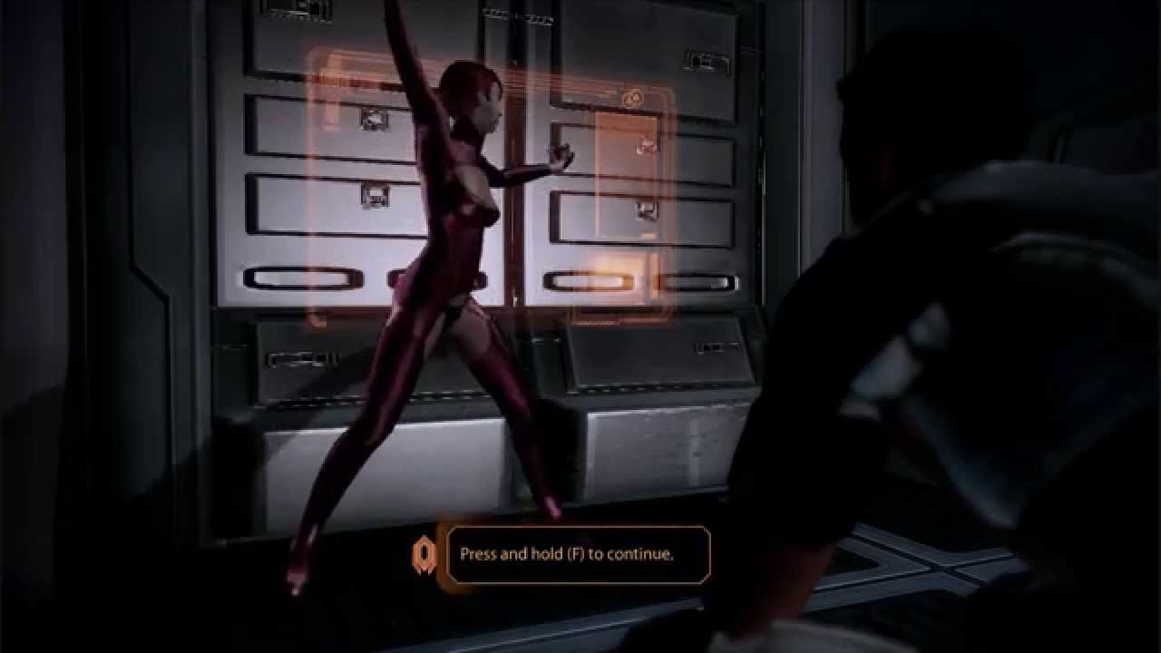 Mass Effect 2 Kelly Chambers Is A Private Dancer