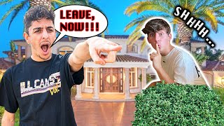 Sneaking Into FaZe Rug's MANSION... **caught** | DONLAD