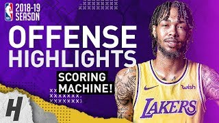 Brandon Ingram BEST Offense Highlights from 2018-19 NBA Season! NASTY Dunks, CLUTCH Plays!