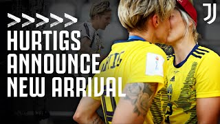 Lina and Lisa Hurtig announce their new arrival! | Exclusive Interview | Juventus Women
