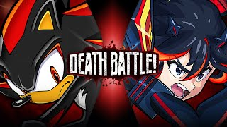 Shadow VS Ryuko (Sonic the Hedgehog VS Kill la Kill) | DEATH BATTLE!