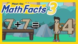 Meet the Math Facts Level 3 - 7+7=14