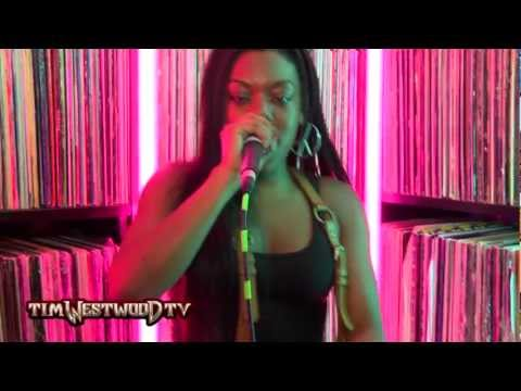 Lady Leshurr & Paigey Cakey pt1 freestyle - Westwood Crib Session