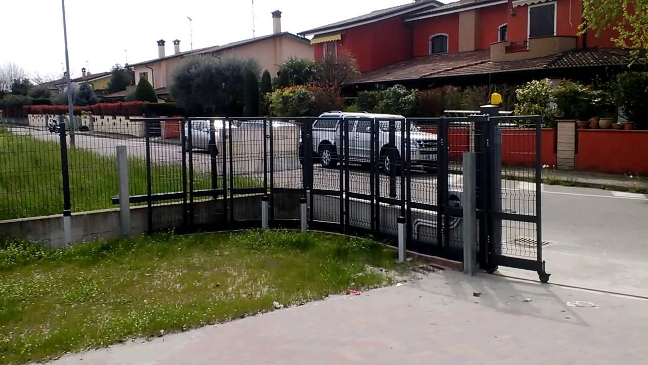 novit cancello curvo motorizzato youtube