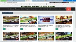 hướng dẫn những trang web game HACK VÀ LẬU CỰC HAY 2017